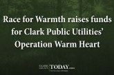 Race for Warmth raises funds for Clark Public Utilities' Operation Warm Heart