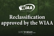 Reclassification approved by the WIAA