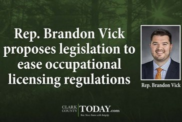 Rep. Brandon Vick proposes legislation to ease occupational licensing regulations