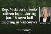 Rep. Vicki Kraft seeks citizen input during Jan. 18 town hall meeting in Vancouver