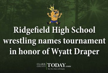 Ridgefield High School wrestling names tournament in honor of Wyatt Draper