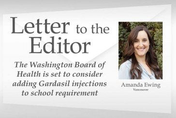 Letter: The Washington Board of Health is set to consider adding Gardasil injections to school requirement
