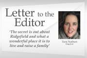 Letter: 'The secret is out about Ridgefield and what a wonderful place it is to live and raise a family'