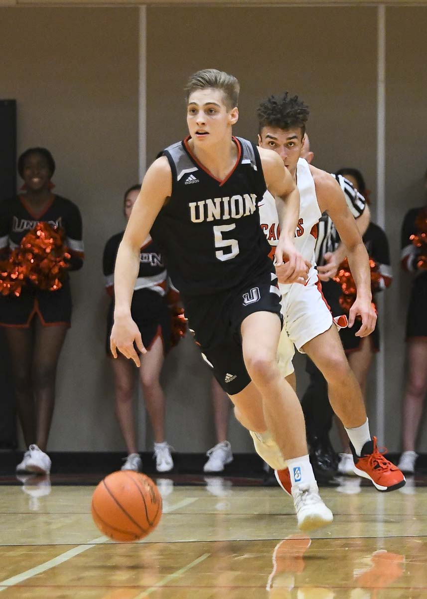 Tanner Toolson is one of the reasons the Union Titans are undefeated through 13 games this season. Photo by Kris Cavin