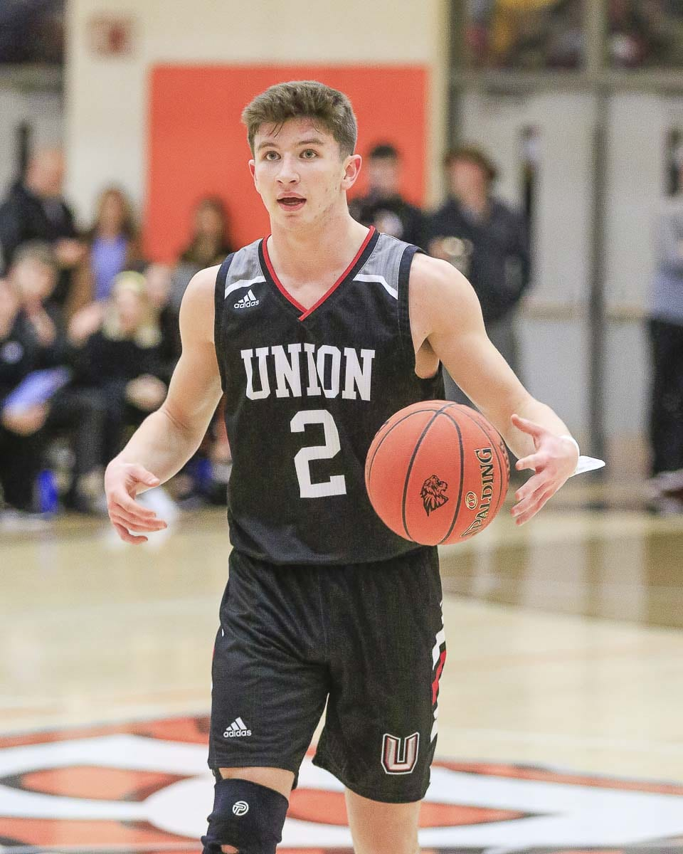 Union senior Brad Lackey is likely out for the rest of the season after suffering a knee injury Tuesday. Photo by Mike Schultz