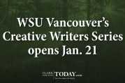 WSU Vancouver's Creative Writers Series opens Jan. 21