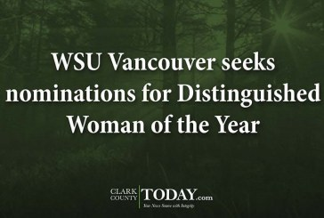 WSU Vancouver seeks nominations for Distinguished Woman of the Year