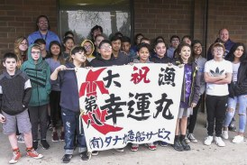 Vancouver middle school students to launch mini-boats bound for Japan