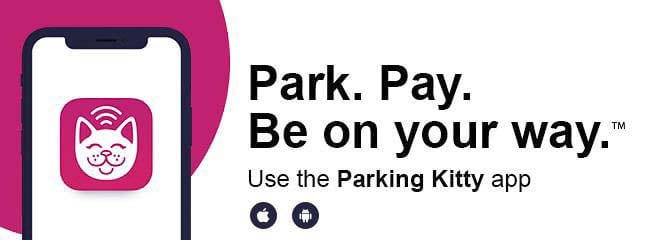 People parking on-street in the downtown and Uptown Village areas of Vancouver, will soon be able to pay to park using Passport's Parking Kitty app.