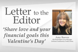 Letter: 'Share love and your financial goals this Valentine's Day'