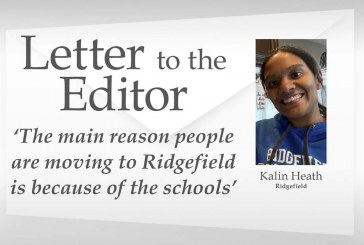 Letter: 'The main reason people are moving to Ridgefield is because of the schools'