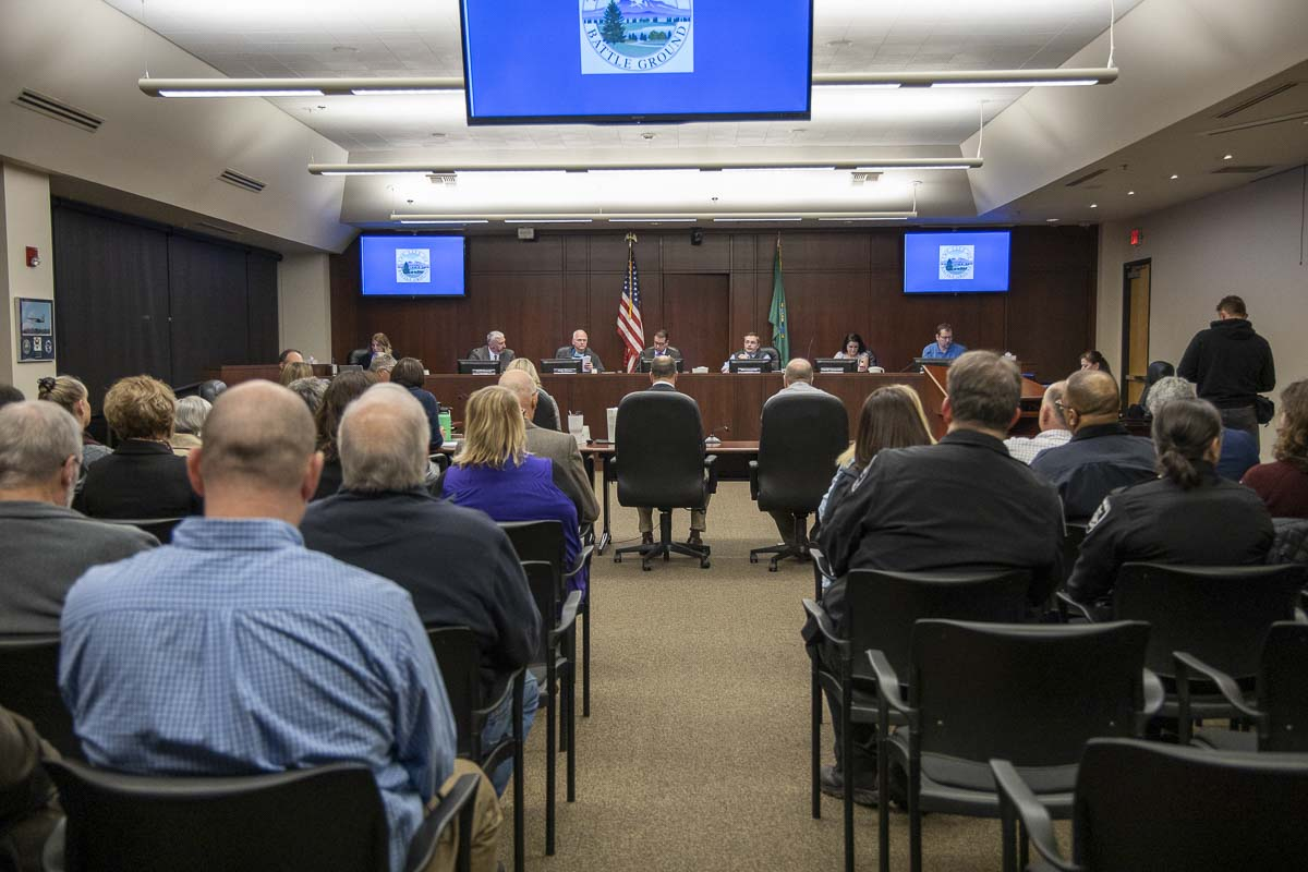 Battle Ground city leaders were shocked at the overwhelming success of the ballot measure to annex the city into Clark County Fire District 3 starting in 2021. Photo by Chris Brown
