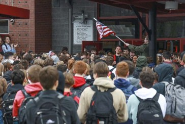 Students defy administration in walkout at Camas High School