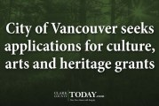 City of Vancouver seeks applications for culture, arts and heritage grants
