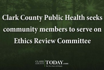 Clark County Public Health seeks community members to serve on Ethics Review Committee