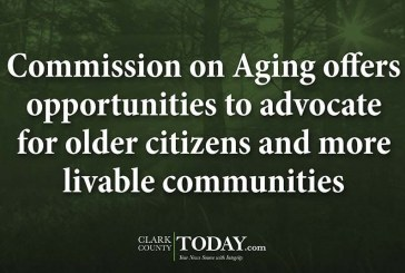 Commission on Aging offers opportunities to advocate for older citizens and more livable communities