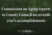 Commission on Aging reports to County Council on seventh year's accomplishments