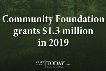 Community Foundation grants $1.3 million in 2019