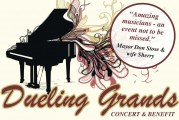 'Dueling Grands' Benefit Concerts set for March 8