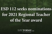 ESD 112 seeks nominations for 2021 Regional Teacher of the Year award