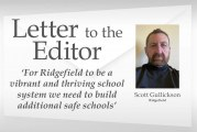 Letter: 'For Ridgefield to be a vibrant and thriving school system we need to build additional safe schools'