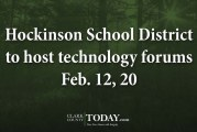 Hockinson School District to host technology forums Feb. 12, 20