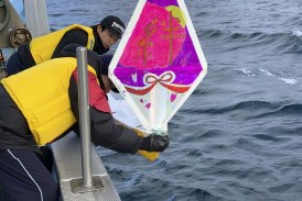 Wy'east Mini-Boat crosses international dateline in Pacific Ocean voyage