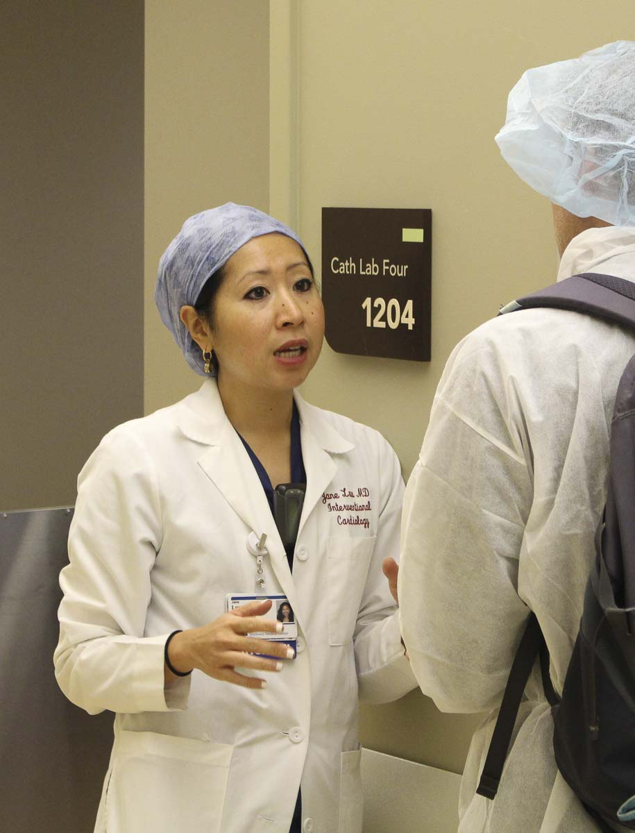 PeaceHealth Southwest cardiologist Jane Luu, MD, has critical advice to women and others about heart health. Photo courtesy of PeaceHealth Southwest