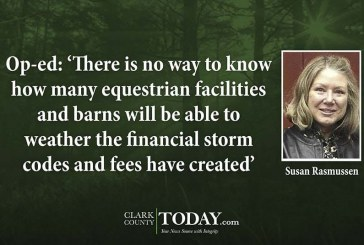 Op-ed: 'There is no way to know how many equestrian facilities and barns will be able to weather the financial storm codes and fees have created'