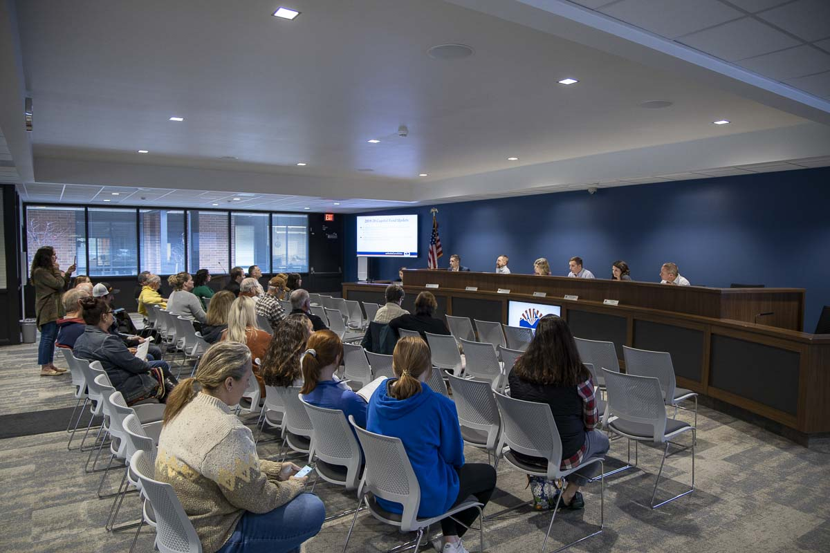 The Ridgefield School District Board of Directors voted Tuesday night to put a new $40.5 million building bond on the April 28 special election ballot. Photo by Chris Brown