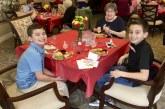 South Ridge Elementary students visit senior citizen friends