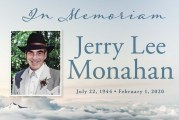 Obituary: Jerry Lee Monahan