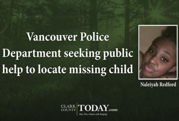 Update: Missing child returns home