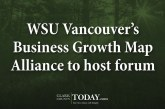 WSU Vancouver's Business Growth Map Alliance to host forum