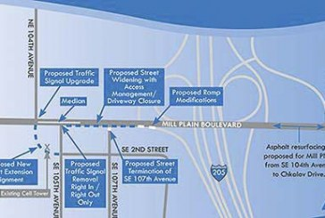 Southeast Mill Plain Boulevard/104th Avenue Improvement Project begins in March
