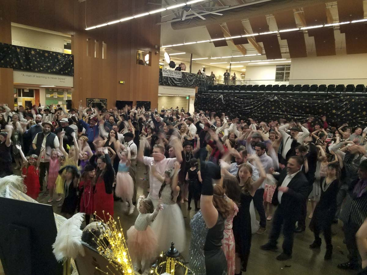 "The ""Roaring '20s/Vintage Hollywood"" theme was the backdrop for two dances, one from 3-5 p.m. and another from 7-9 p.m. Photo courtesy of Grace Community Church"