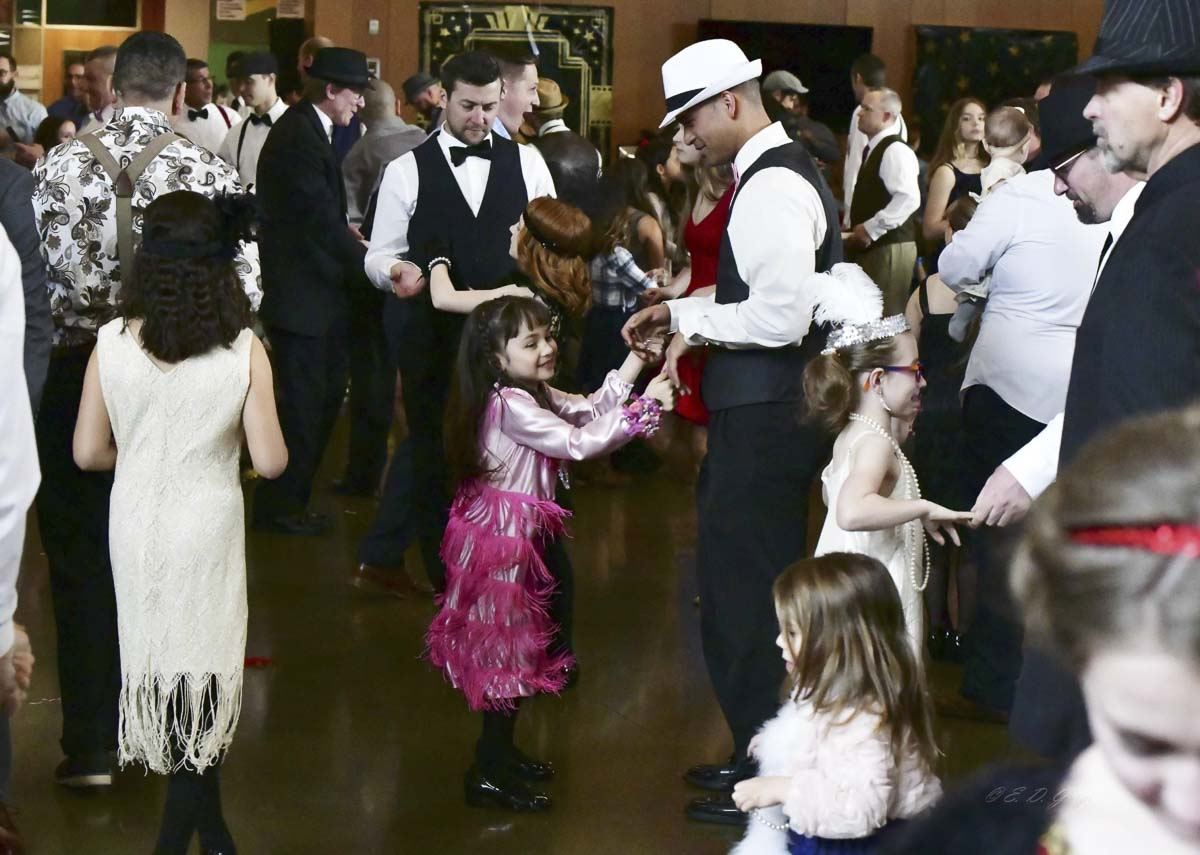 The Father/Daughter Ball is a nonprofit community service event sponsored by Grace Community Church providing the opportunity for dads and daughters of all ages to create memories. Photo courtesy of Grace Community Church