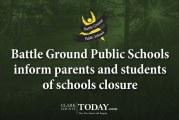 Battle Ground Public Schools inform parents and students of schools closure