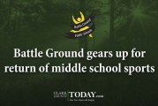 Battle Ground gears up for return of middle school sports