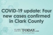 COVID-19 update: Four new cases confirmed in Clark County