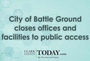 City of Battle Ground closes offices and facilities to public access