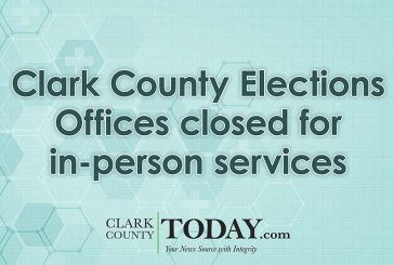Clark County Elections Offices closed for in-person services