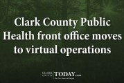 Clark County Public Health front office moves to virtual operations