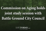 Commission on Aging holds joint study session with Battle Ground City Council