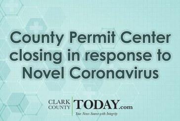 County Permit Center closing in response to Novel Coronavirus