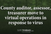 County auditor, assessor, treasurer move to virtual operations in response to virus