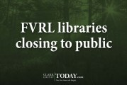 FVRL libraries closing to public