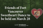Friends of Fort Vancouver Sweetheart Dance to be held on March 28
