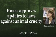 House approves updates to laws against animal cruelty