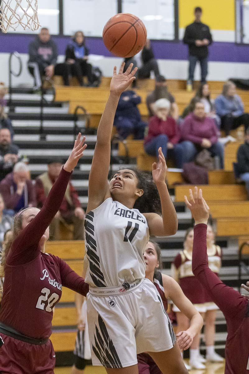 Jaydia Martin of Hudson's Bay is the Class 3A GSHL Player of the Year. Photo by Mike Schultz